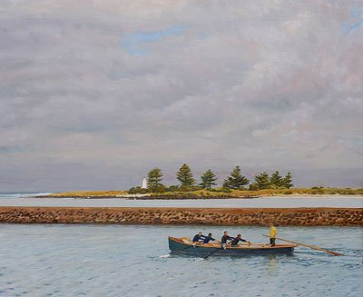 Passing the island, Port Fairy 2003